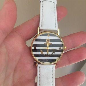 Nautical Anchor wrist watch